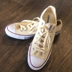 EUC Off White Converse Sneakers